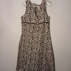 Aline cotton lined dress